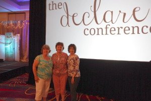 Michelle, Jenny, and Freida at Declare Conference
