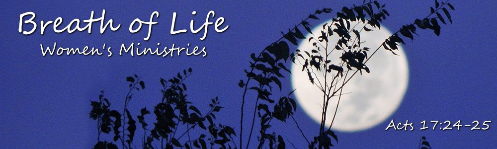 Breath of Life Women's Ministries